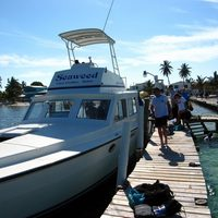 caye caulker - scuba turneffe north day - boat pics